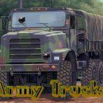 Army Trucks Hidden Objects