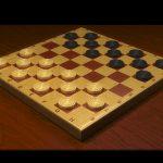 Checkers Dama chess board