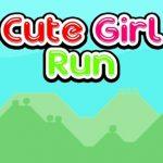 Cute Girl Run