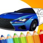 draw Car – Japanese Luxury Cars Coloring Book