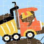 Dumper Trucks Jigsaw
