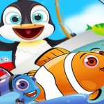 Fish Games For Kids   Trawling Penguin Games