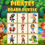 Pirates Board Puzzle