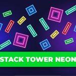 Stack Tower Neon: Keep Blocks Balance